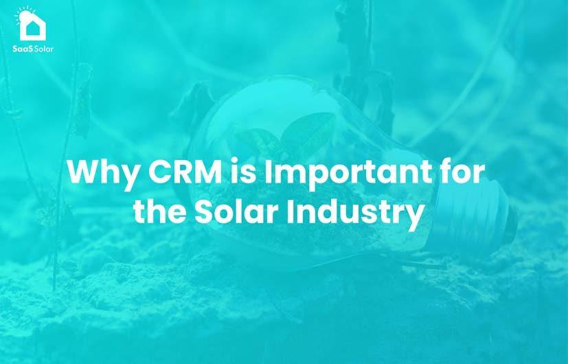 Solar CRM